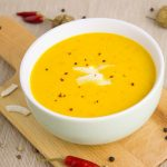 pumpkin soup coconut spices Penvita.co.uk